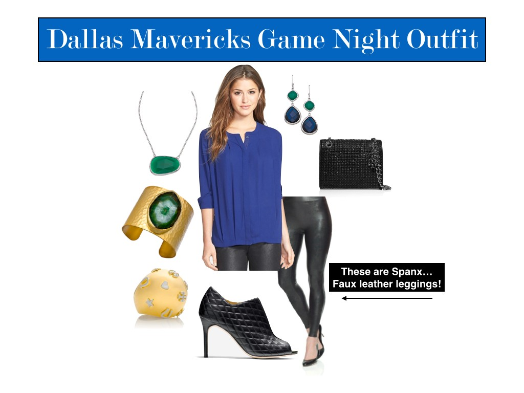 Dallas Mavericks style guide, MFFL, MFFL Fashion, Mavs Game Night Style Guide