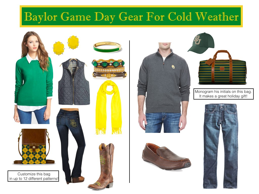 Baylor GameDay Gear, Baylor Outfits for Women, Baylor Outfits for Men
