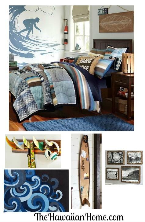 Hawaiian Style Bedroom: Guys Hawaiian Bedroom Design