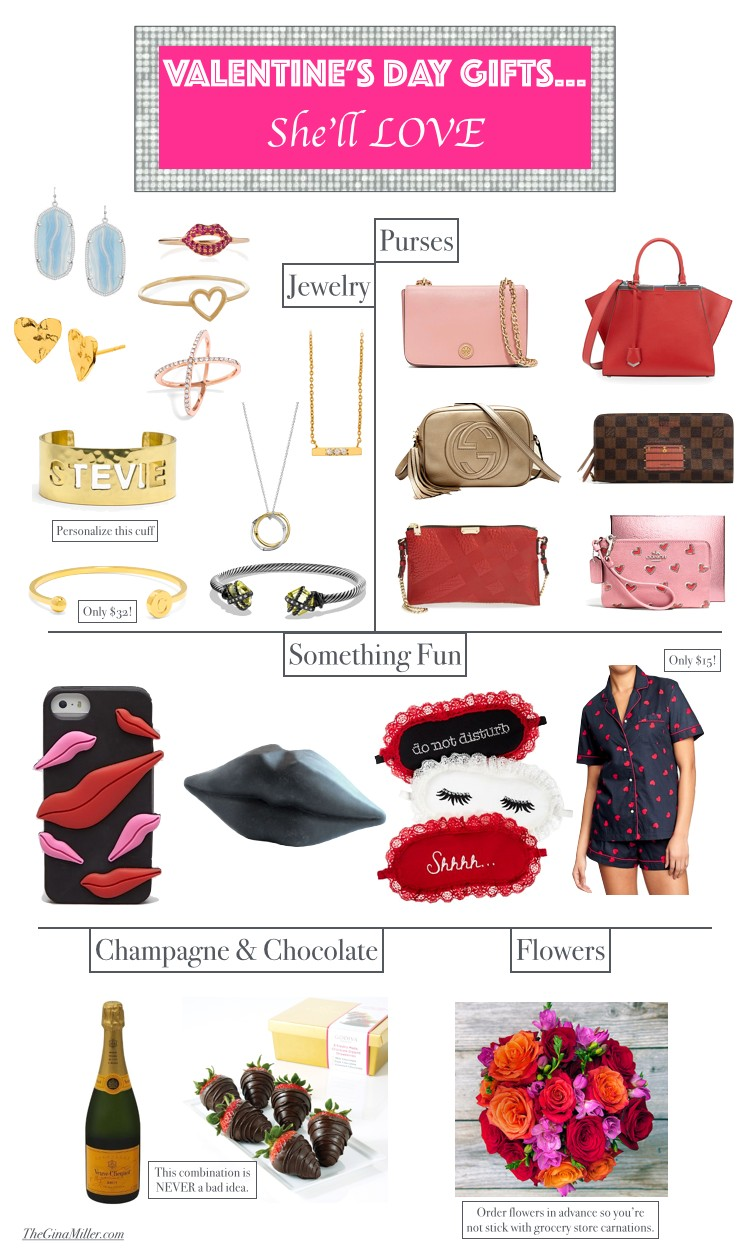 Valentine's Day Gifts for her, Valentine's Day Gift Guide