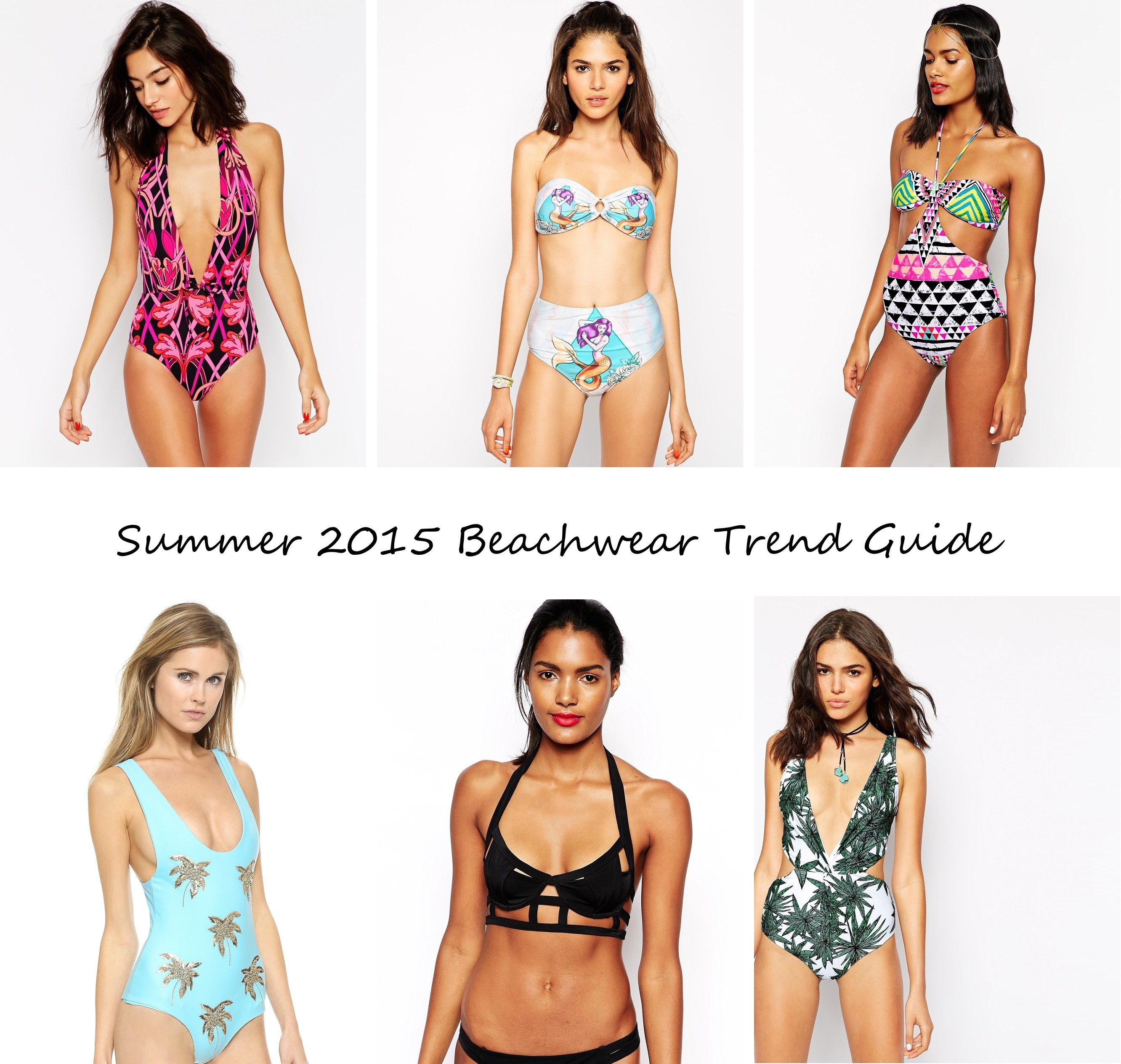 summer 2015 bikini swimsuit beachwear guide trend