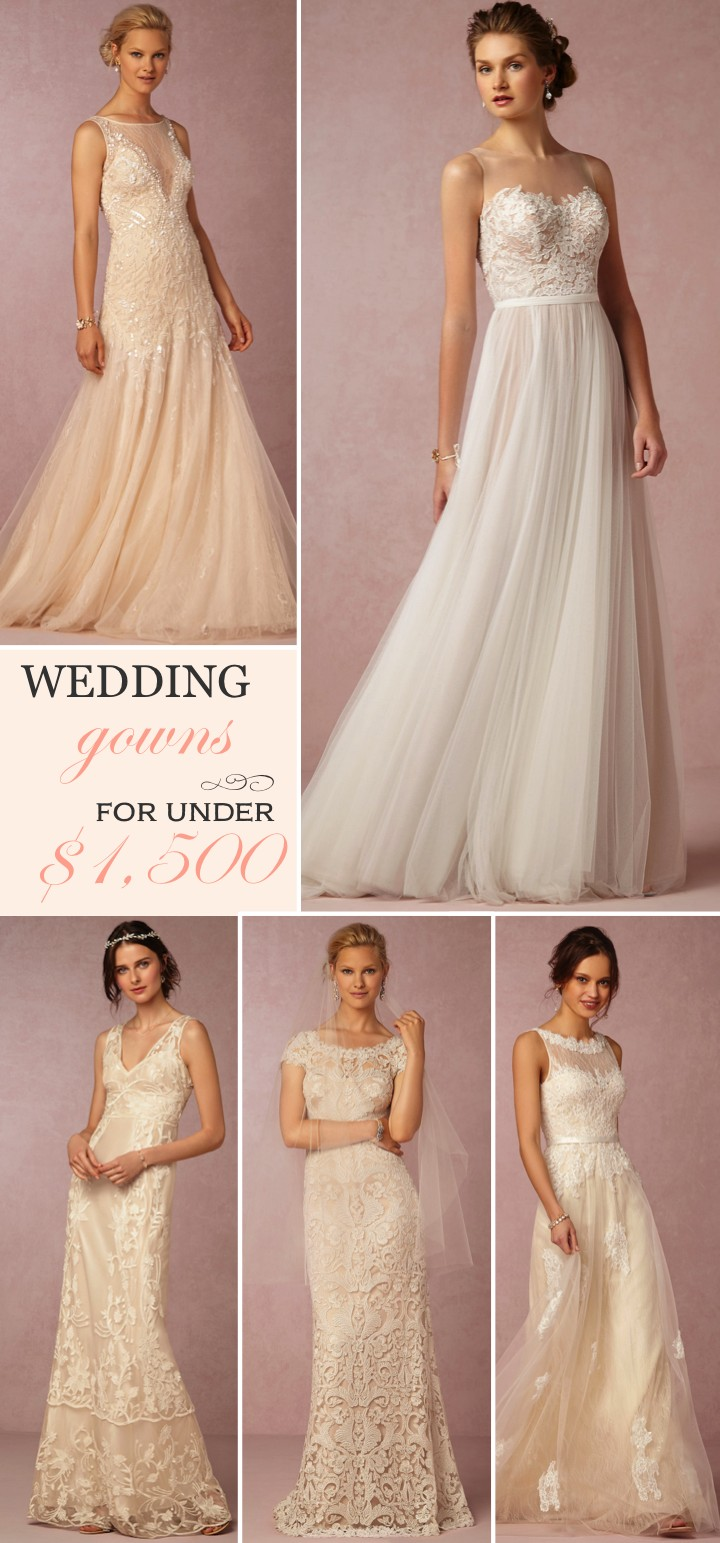 50 Wedding Gowns for Under $1,500   The Perfect Palette