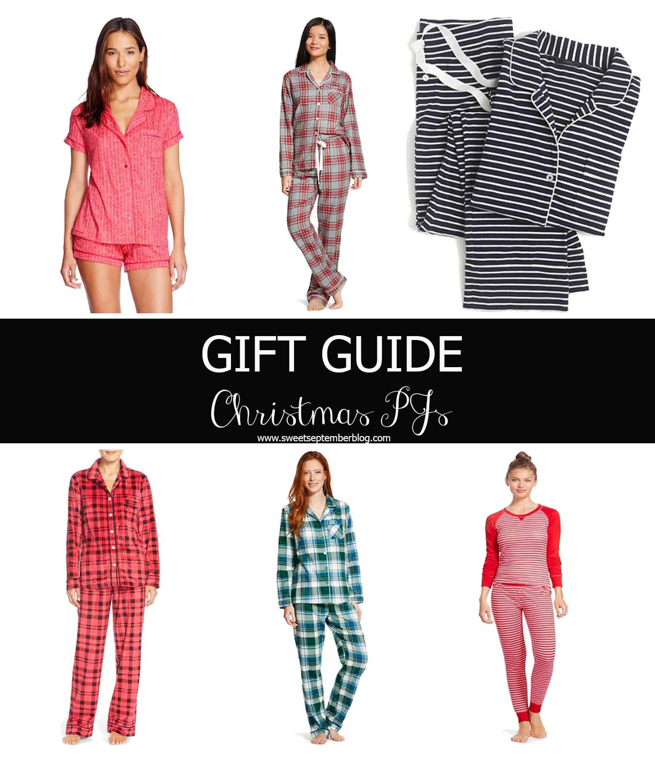 Gift Guide Christmas PJs