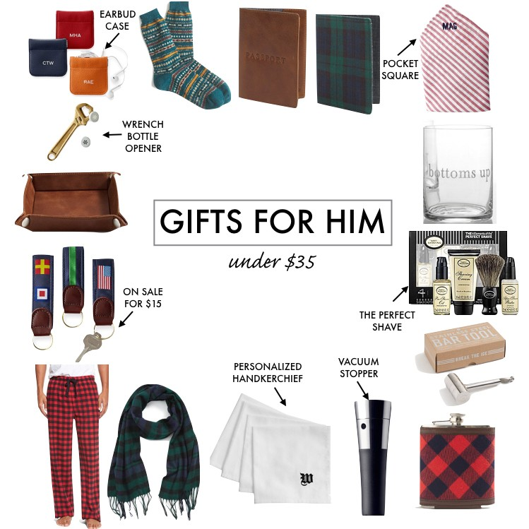 Holiday Gift Guide For Him Under 35 A Southern Drawl