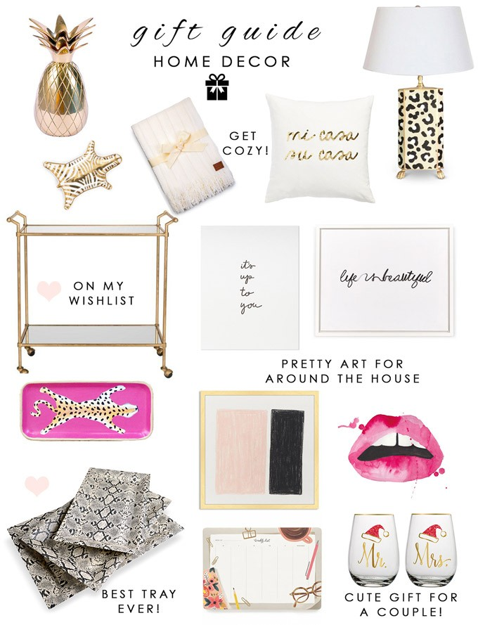 Gift Guide 2015 Home Decor The Fashionistas Diary