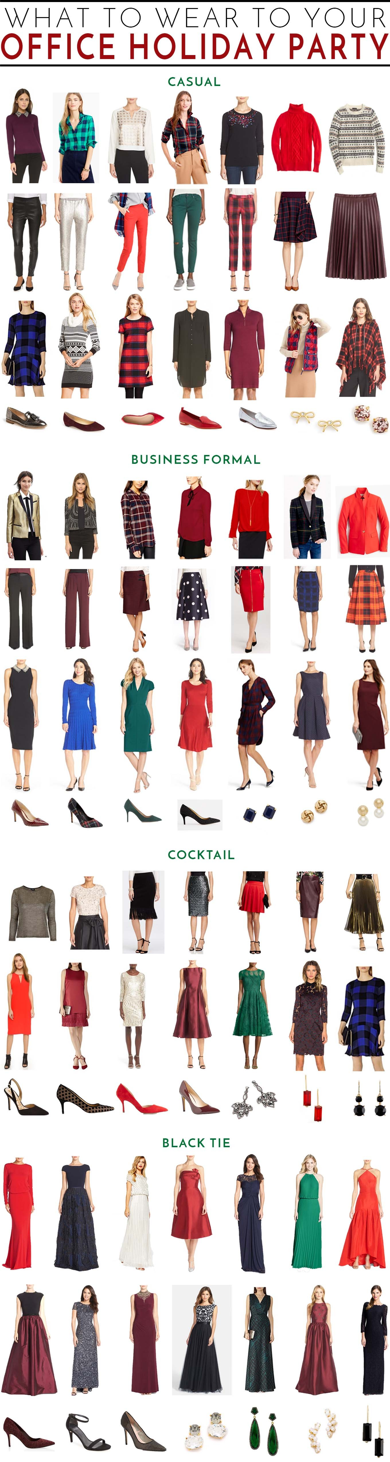 What to Wear to Your Work Holiday Party | Memorandum