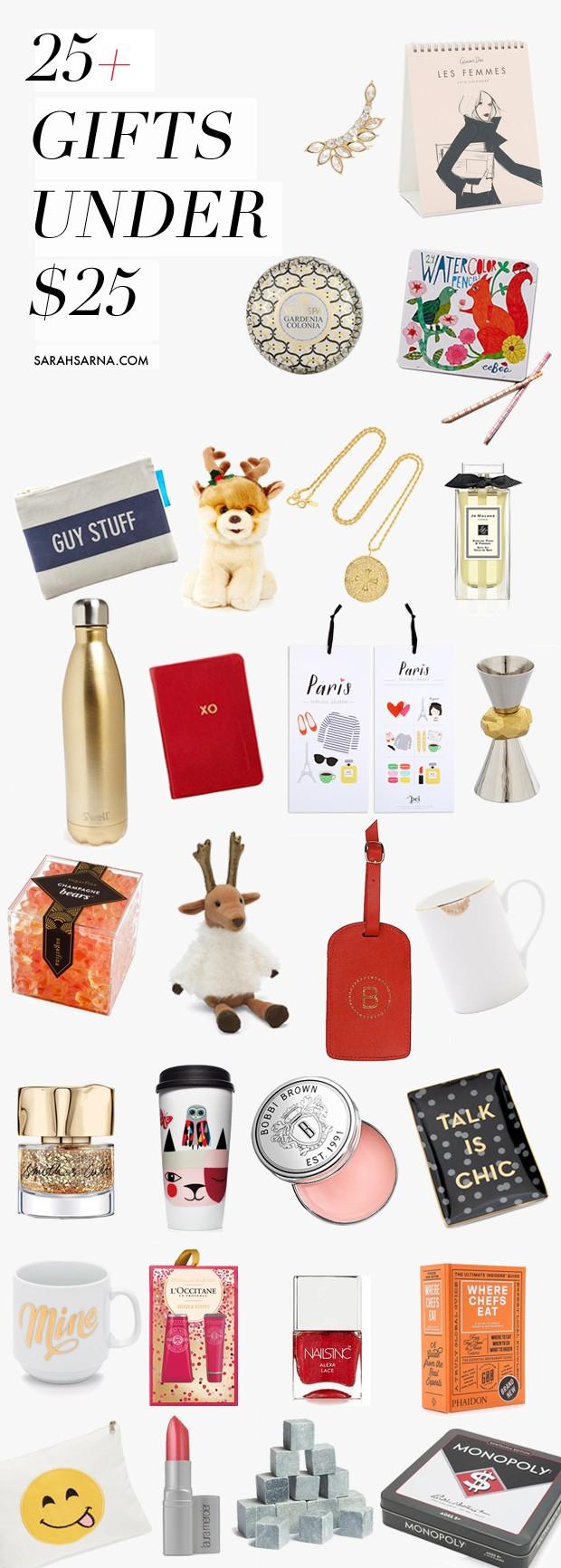 25 Christmas Gift Ideas Under 25 Sarah Baynes
