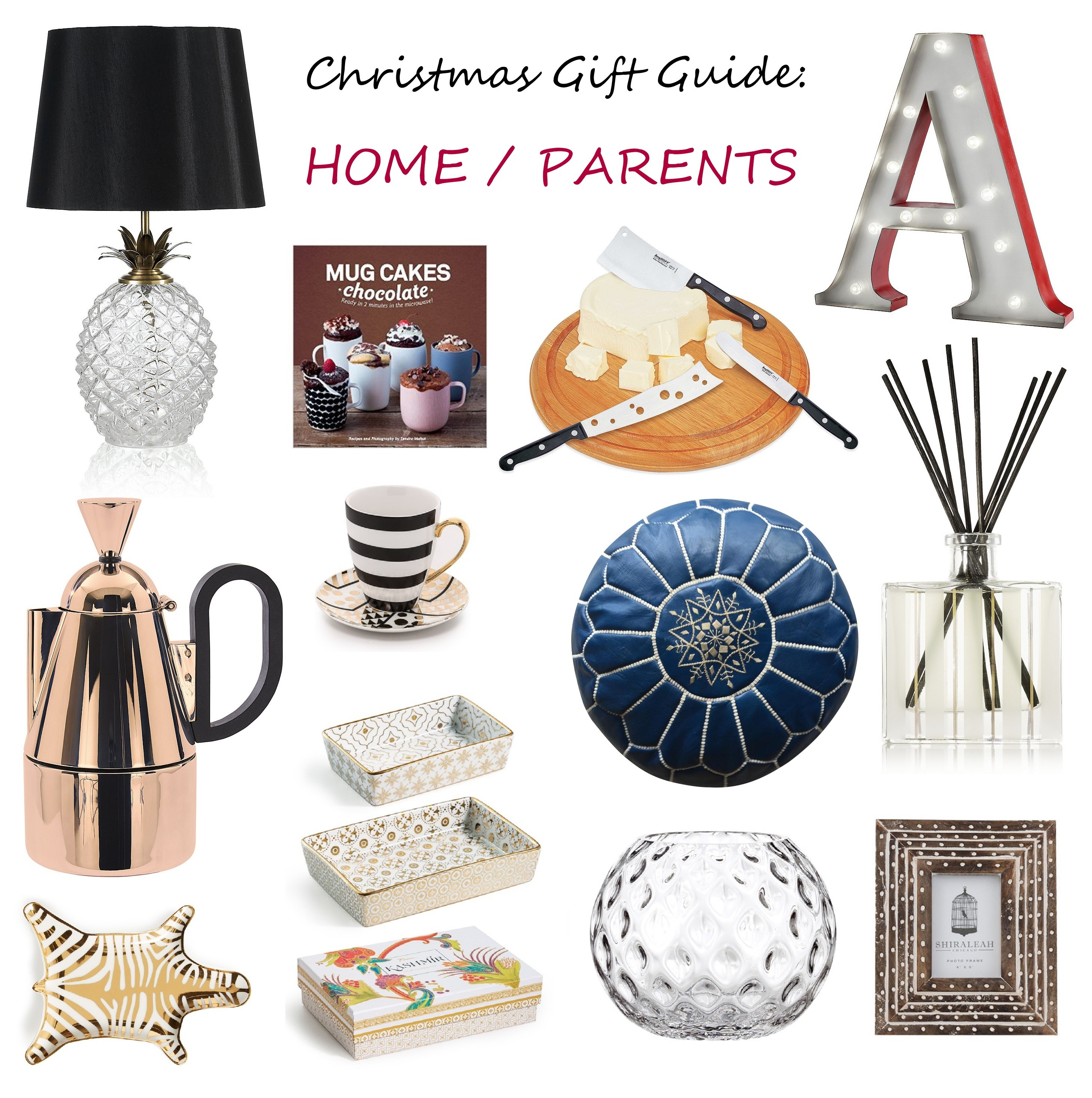 christmas gift guide presents for home parents