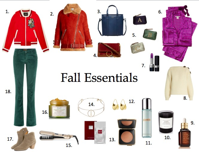 Fall Essentials.My style News