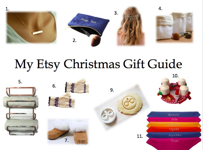 Etsy Christmas Gift Guide.Deco Lifestyle