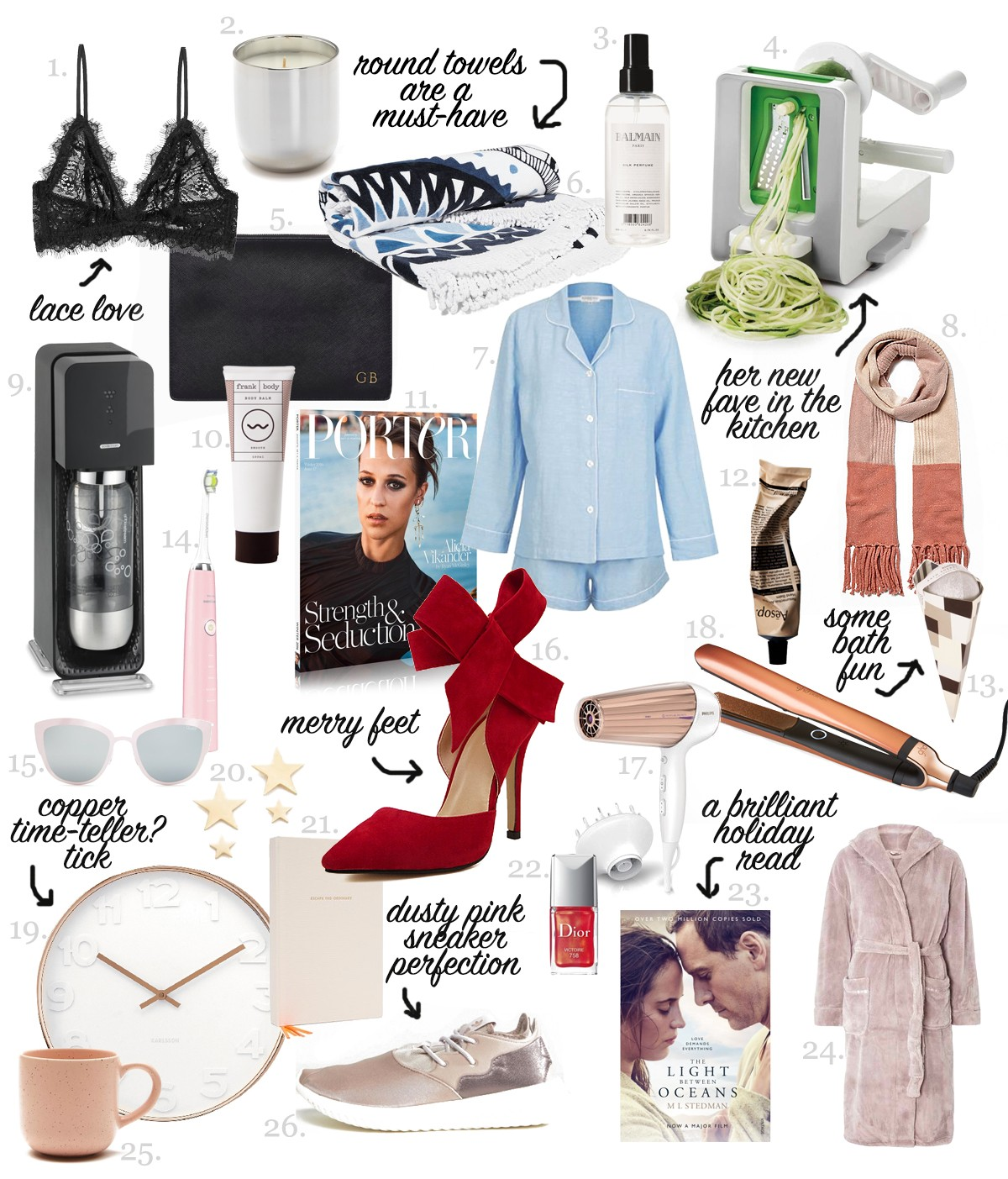 Gifts For Her For Christmas: 26 GIFT IDEAS FOR HER THIS HOLIDAY SEASON