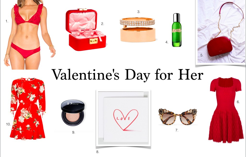 Valentine's day for herShopping
