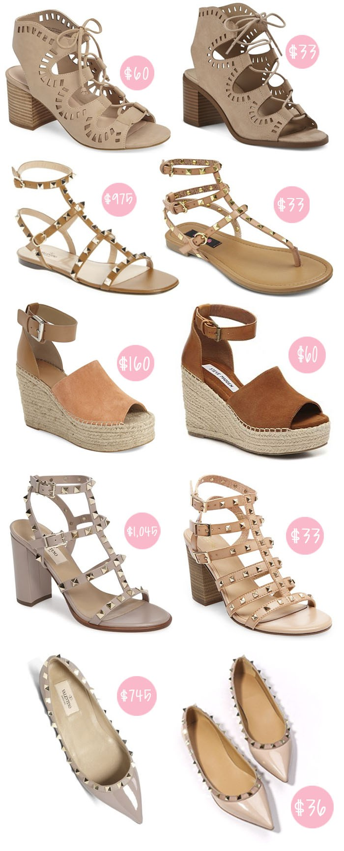 Spring Shoes For Less by fashion blogger Kelsey of Chasing Cinderella