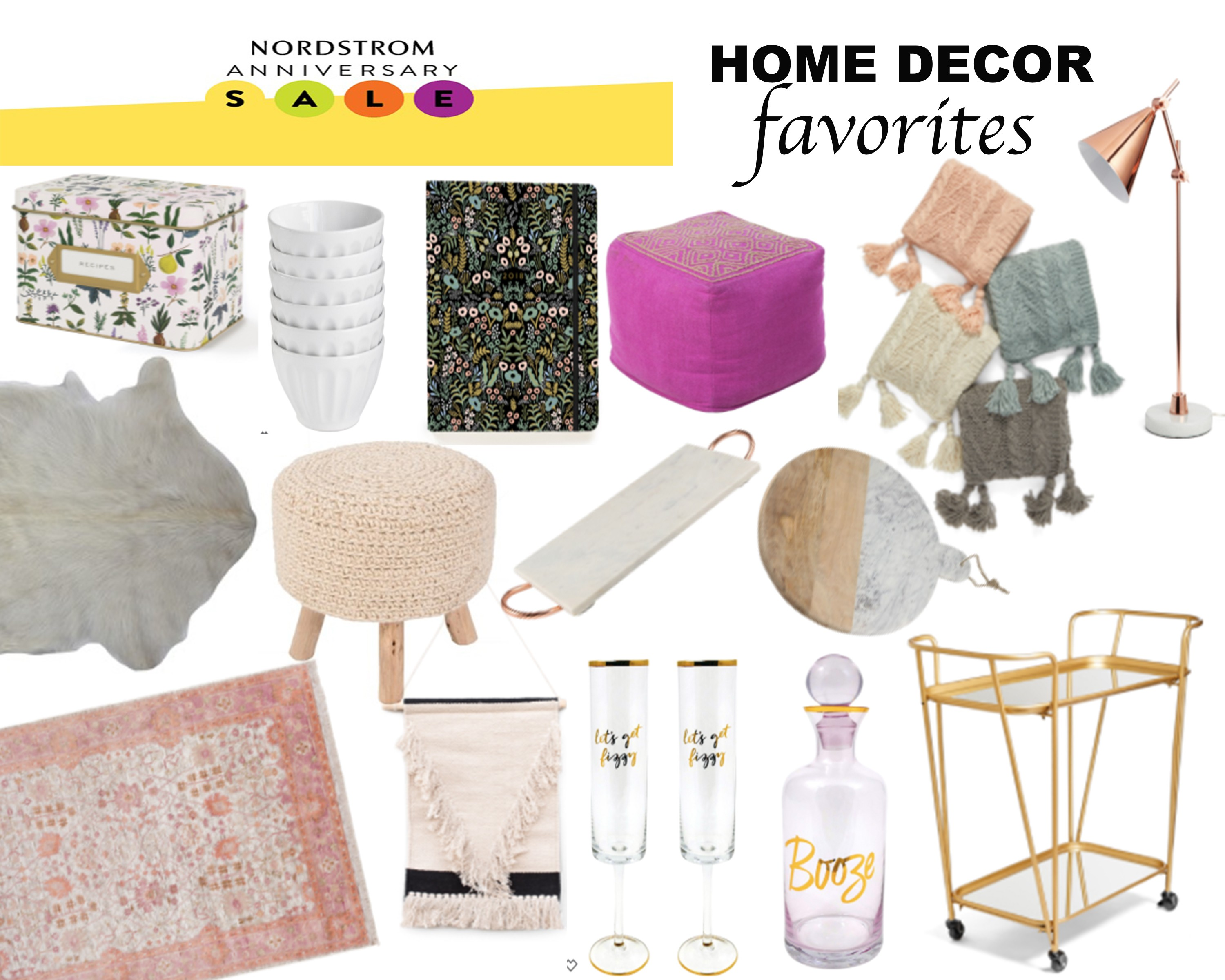 Nordstrom anniversary home decor favorites Nordstrom home decor sale