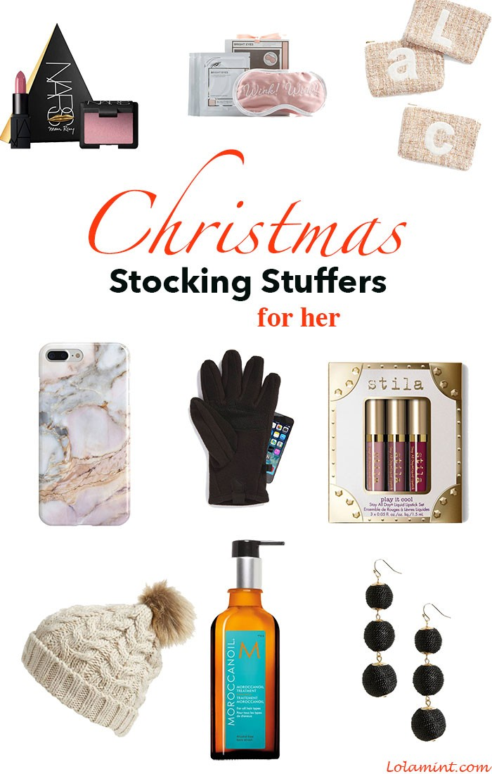 Stocking Stuffer Ideas for her…