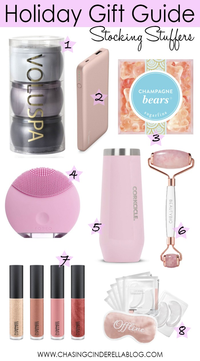 Holiday Gift Guide Stocking Stuffers - Chasing Cinderella