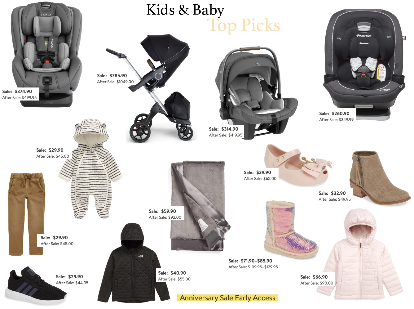 Kids and Baby Top Picks : Nsale 2019