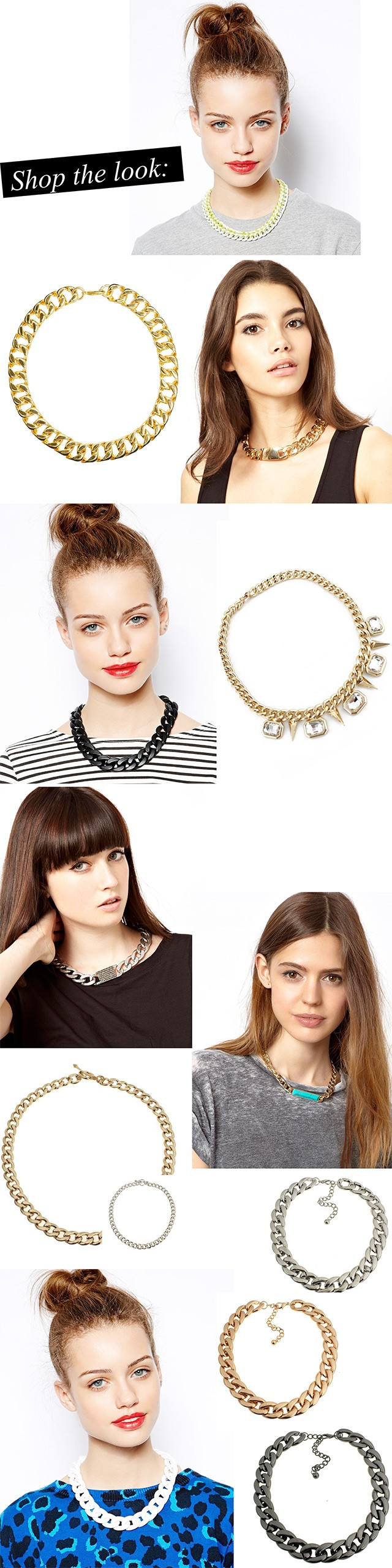 Trending: Chain Necklaces