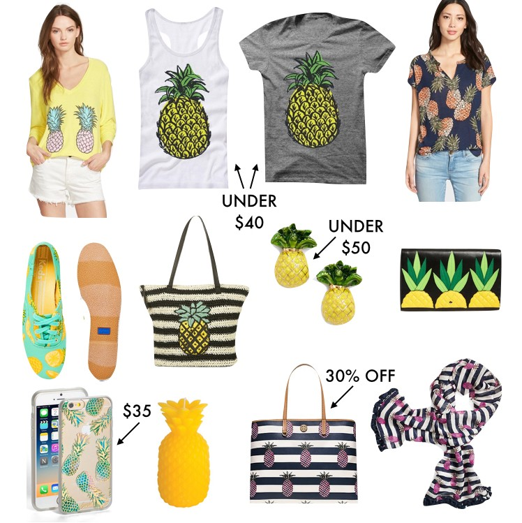 Pineapple Accessories pineapple clothing & accessories | a southern drawl