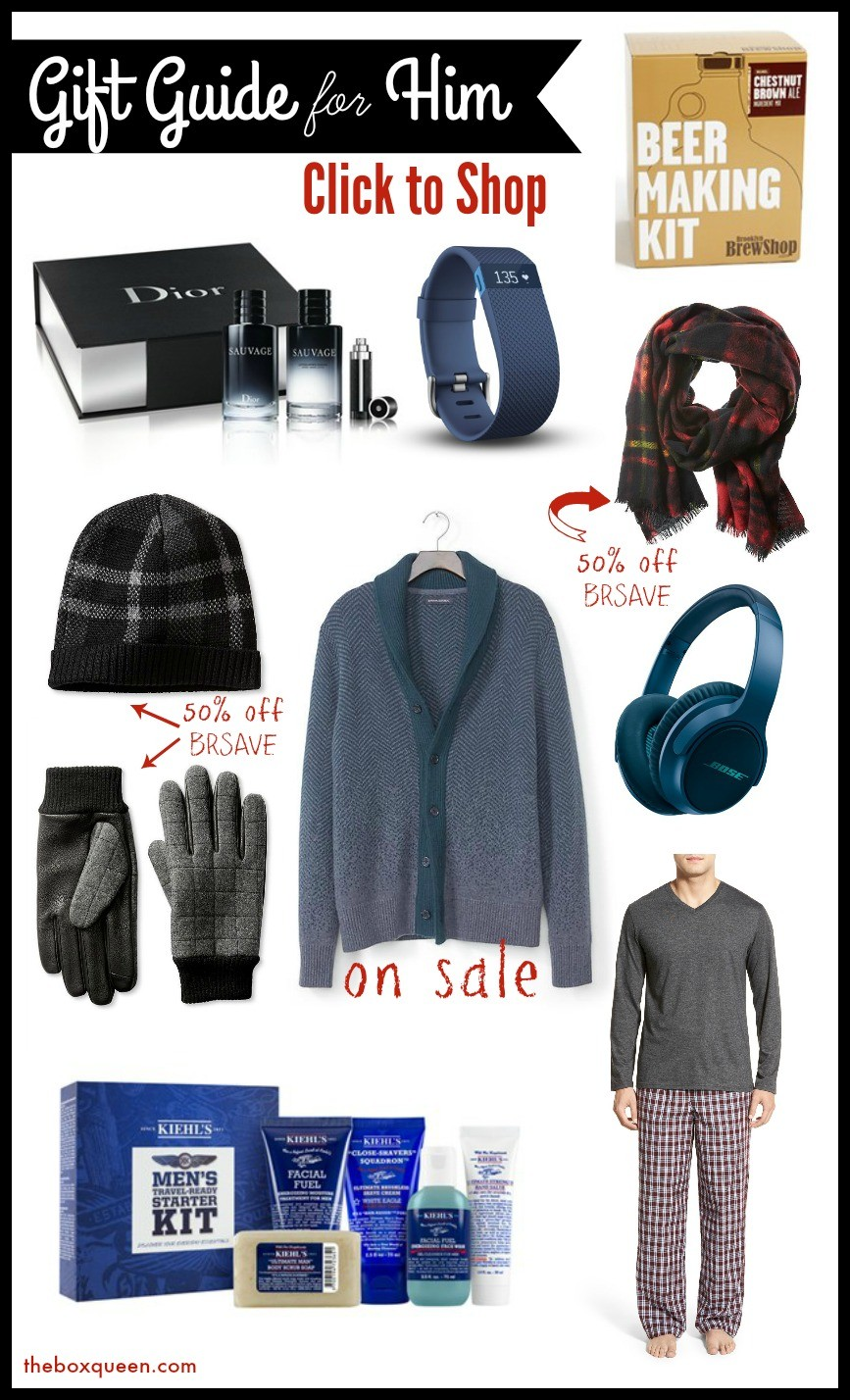 holiday gift guide 2015 best gifts for him