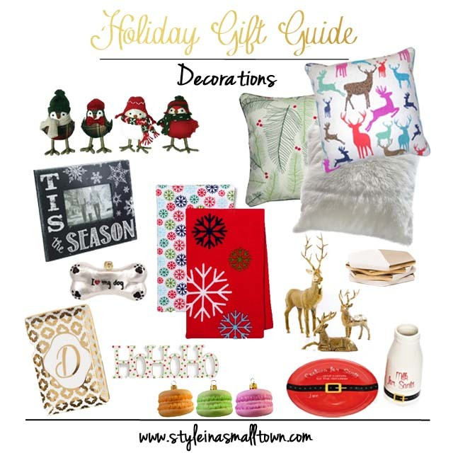 Holiday Gift Guide Home Decor Hostess Gifts Plus a GIVEAWAY