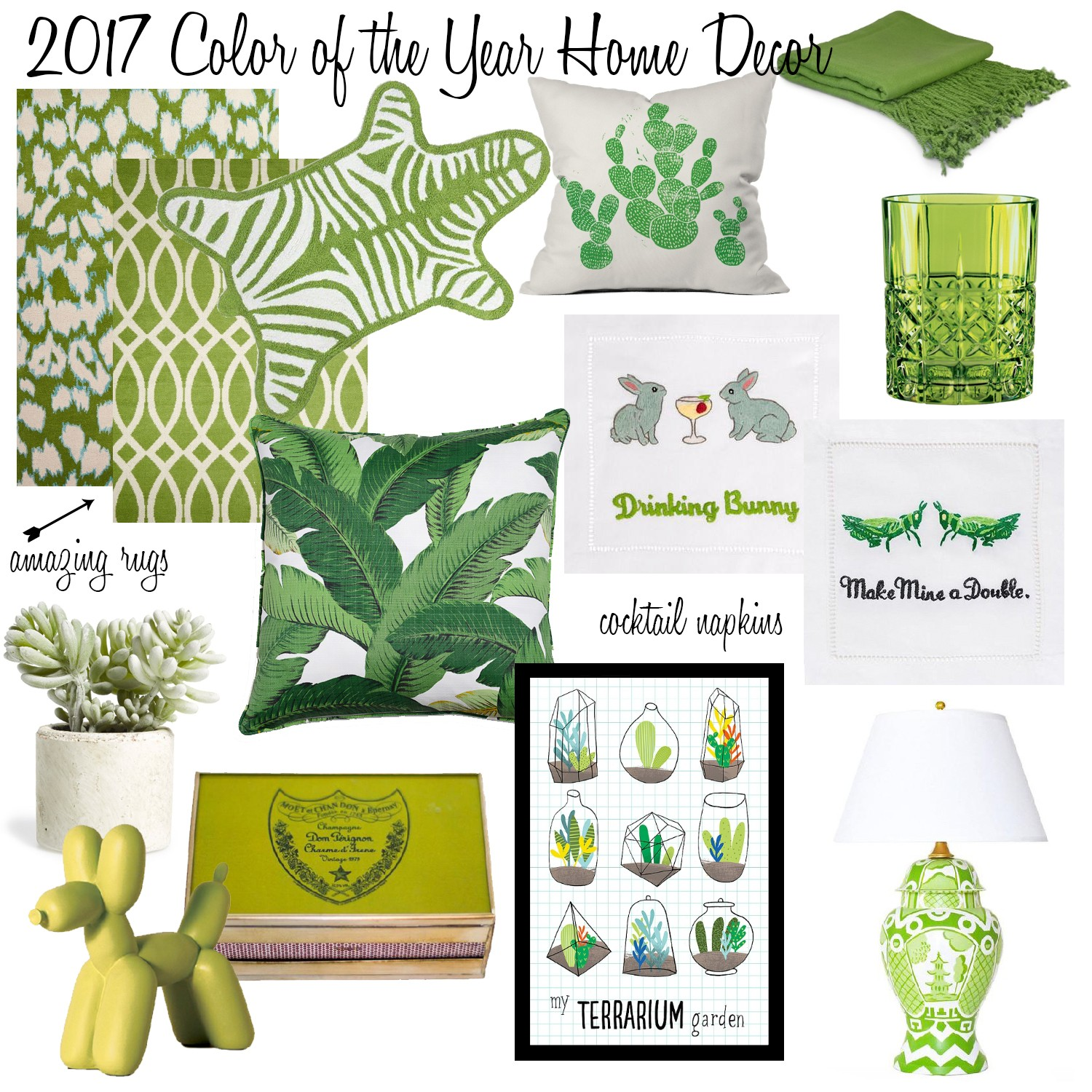 2017 color of the year home decor - meghan jones