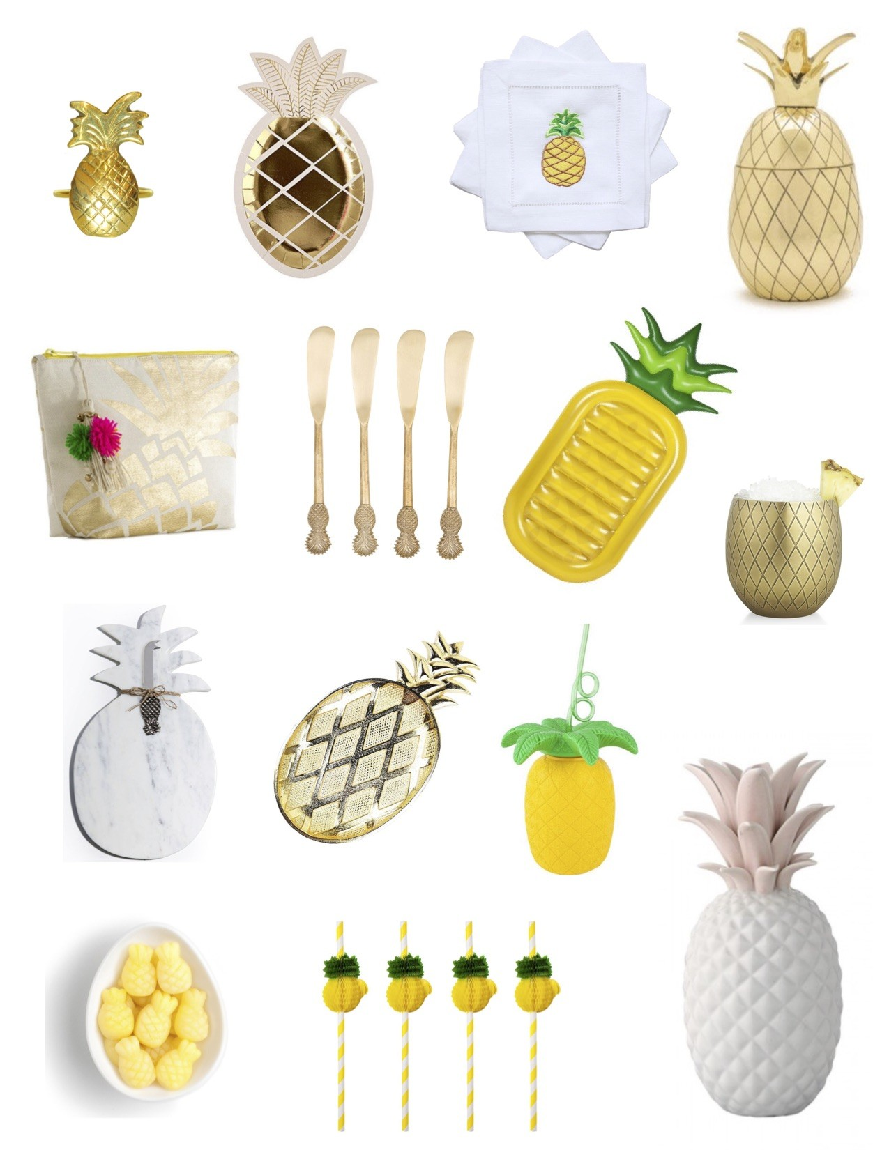 Pineapple Accessories the every hostess - pineapple party - the every hostess