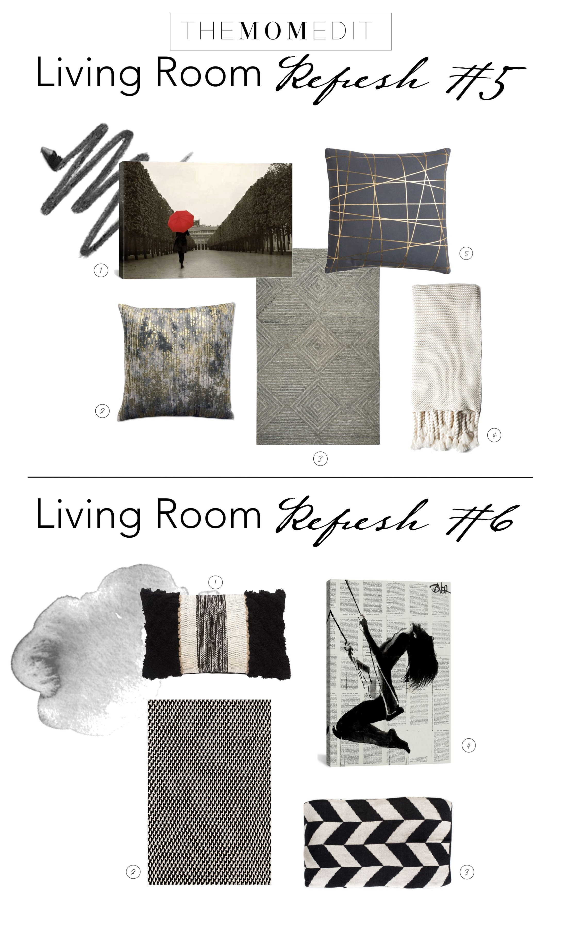4 Things You Need To pletely Refresh Your Living Room The Mom