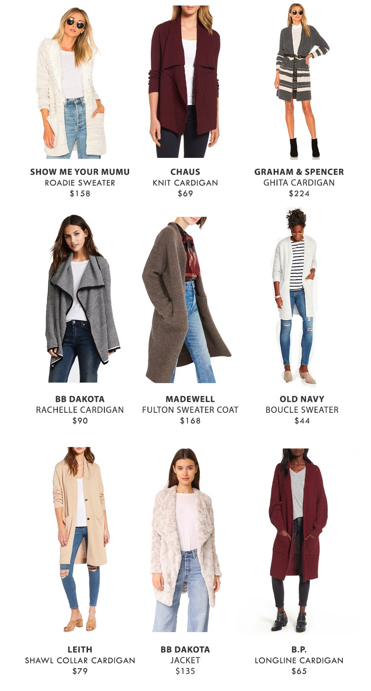 Now Trending Sweater Coats Under 250 The View From 5 Ft 2