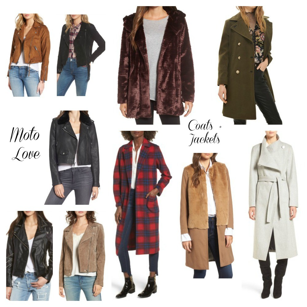 models in trendy jackets and coats of different styles