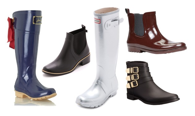 We Pick the Season&39s Best Rain Boots | Fashion Trends Daily