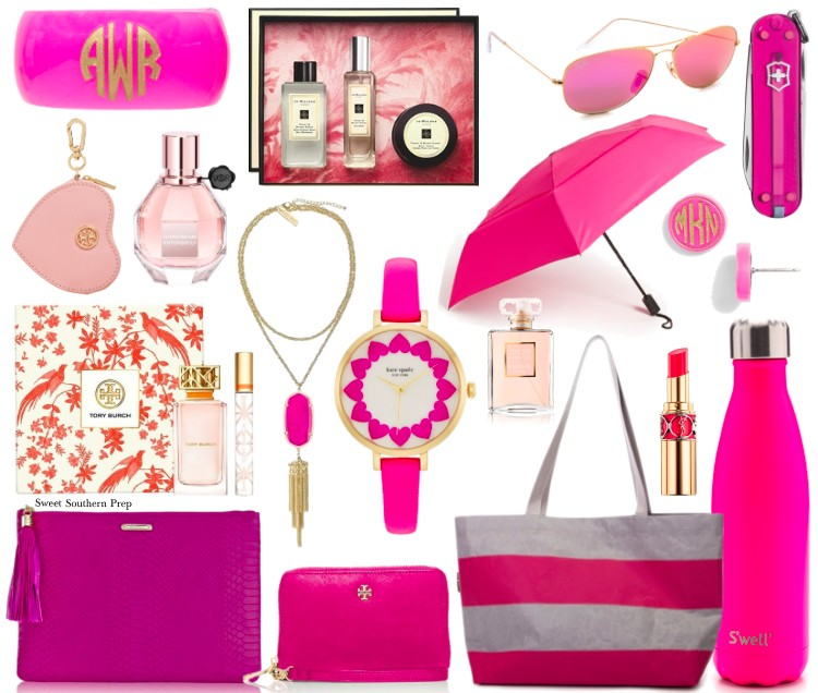 Fashion Friday: Valentine\'s Day Gift Guide for the Pink Lover ...