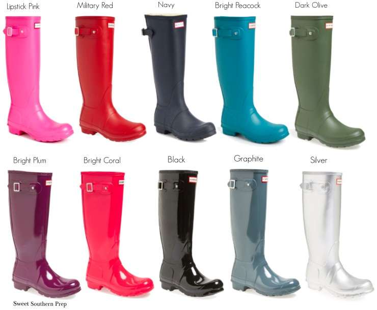 Anniversary Sale Outfit Ideas   Hunter Rain Boots – Sweet Southern