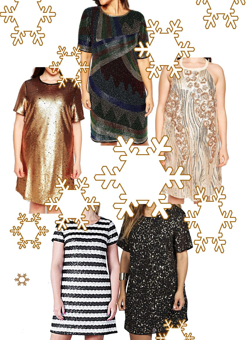 Danielle Vanier: 5 Plus Size Sequin Shift Dresses