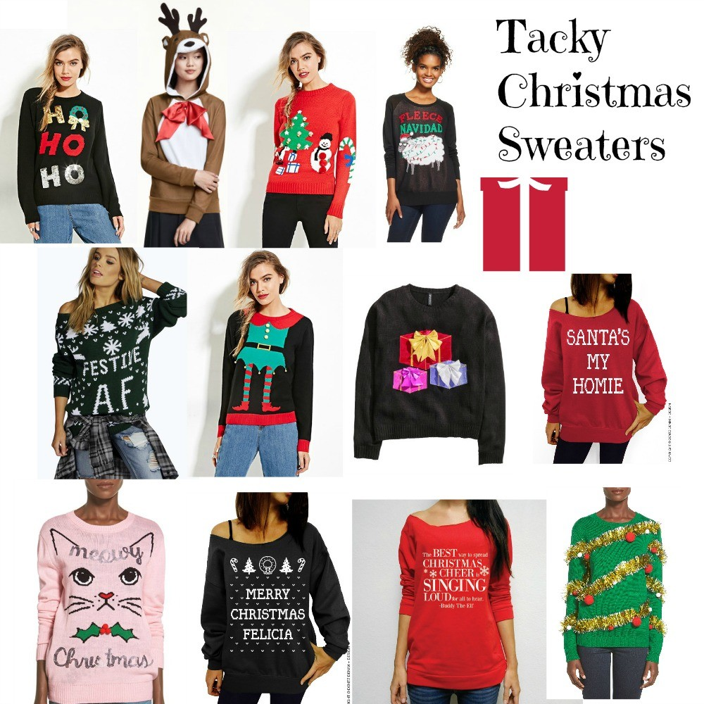 Tacky Christmas Sweaters - BNB styling