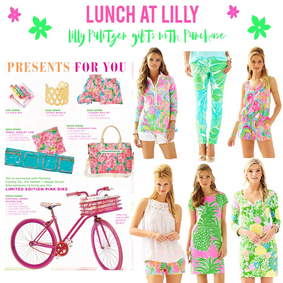 Lilly Pulitzer – Gifts with Purchase