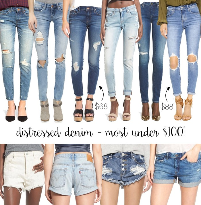 0e01ffd75c0 Distressed Faves Under $100! - LivvyLand | Austin Fashion and Style ...