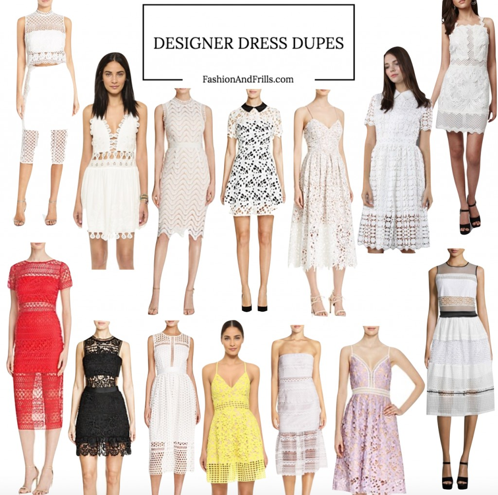 4e5e1f29f1e2 I also found dress dupes in lilac, yellow & red that'll ensure you're the  best-dressed wedding guest.
