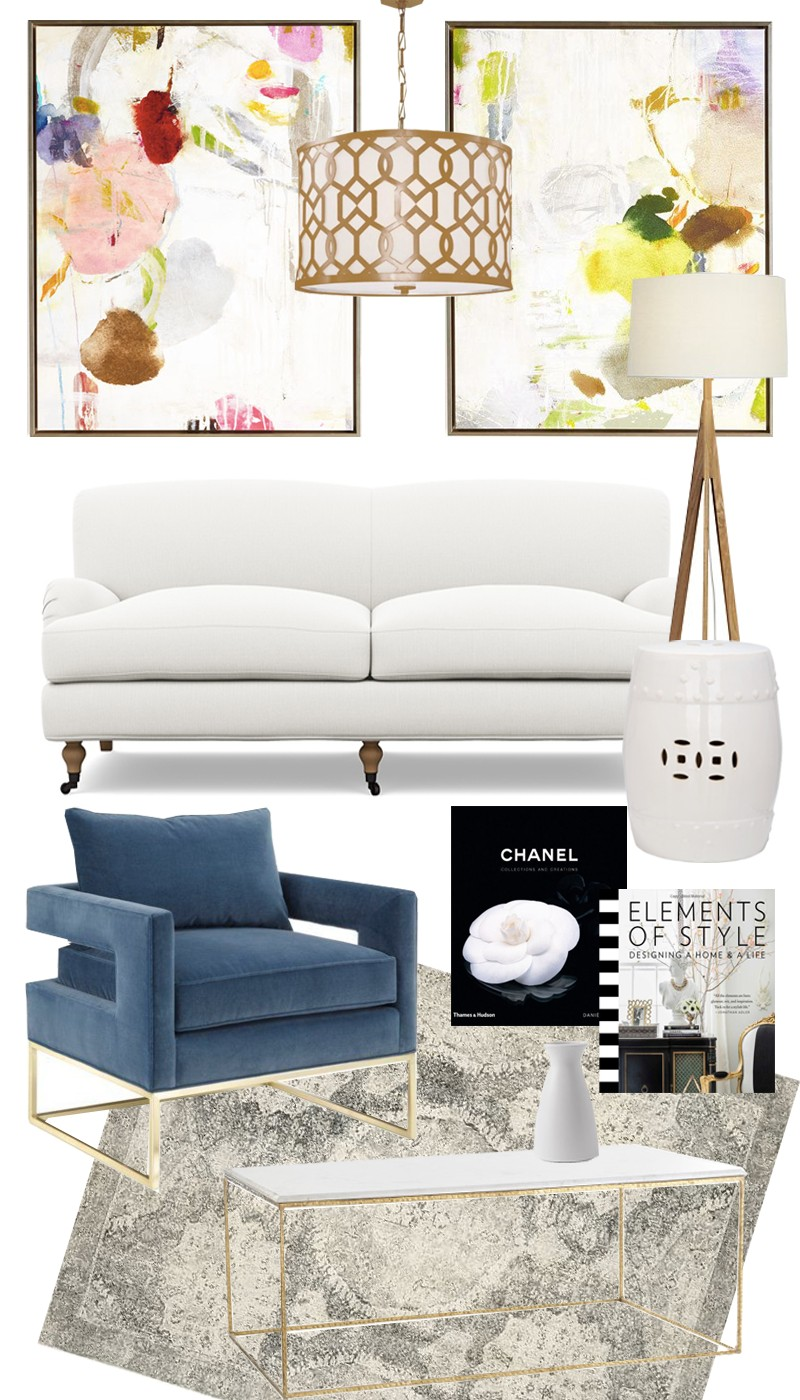 Get The Look: A Chic and Sophisticated Living Room - Lauren Nelson