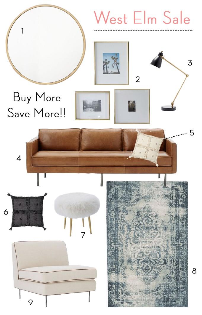 West Elm Sale: Buy More Save More!BECKI OWENS
