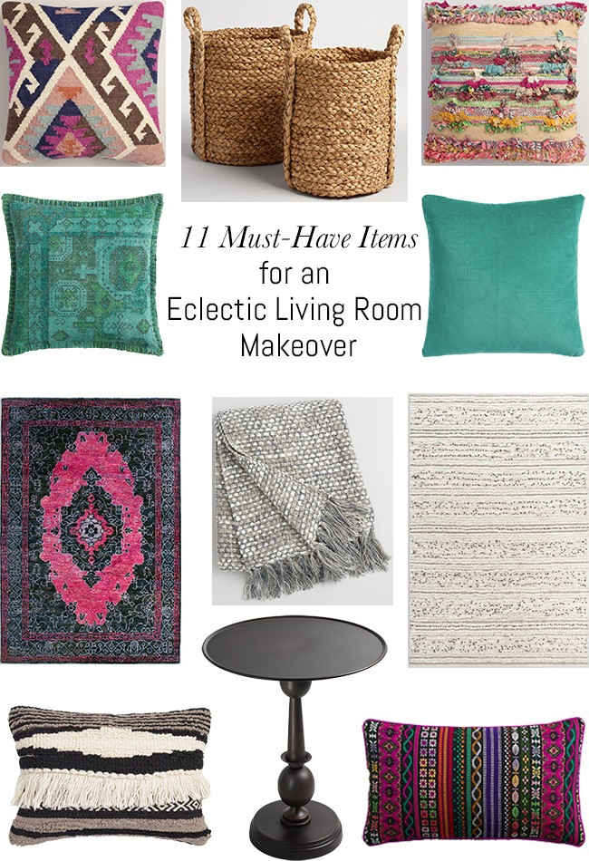 Items For An Eclectic Living Room Makeover If You Love Boho Or Style Then This Collection Is Hover Over The Images Links To
