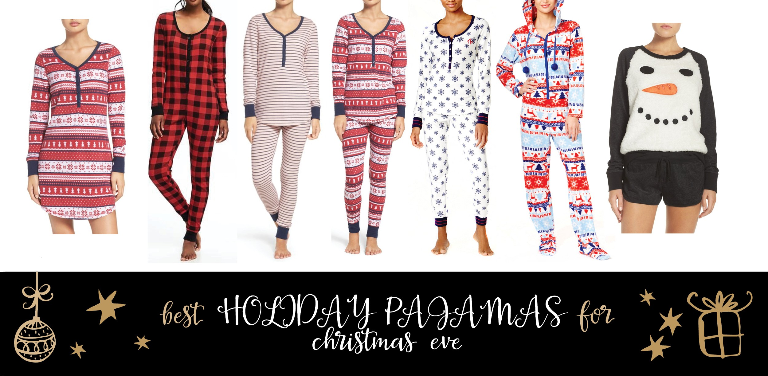 Best Holiday Pajamas for Christmas Eve