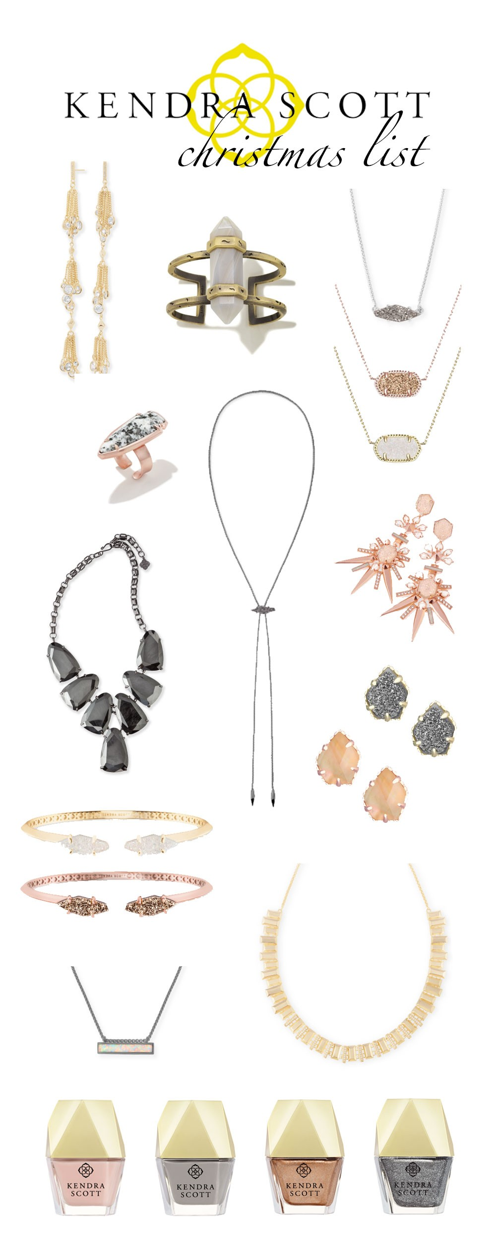 ... on your lists. To shop the pieces (see the prices, ect) just click on the image of the piece or scroll through the widget below and click on the link!
