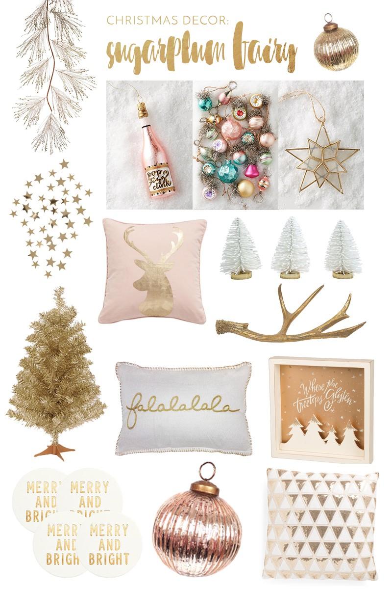 Christmas Decor: Sugarplum Fairy - wander abode
