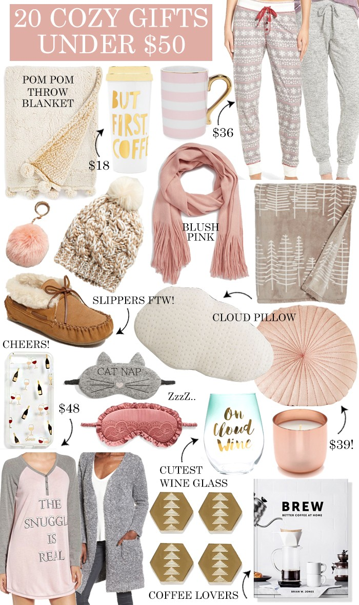 20 Cozy Gift Ideas Under $50 - LivvyLand | Austin Fashion and Style ...
