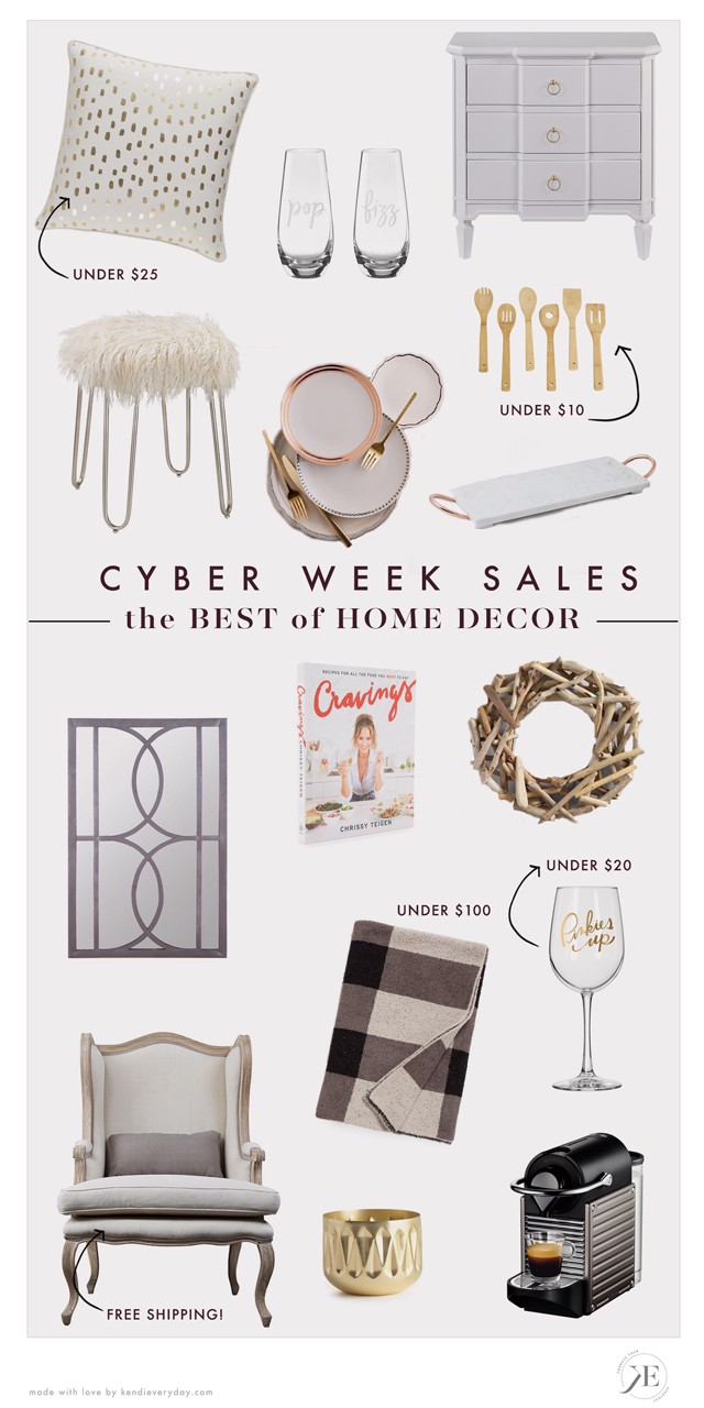 Best Of Black Friday Home Decor