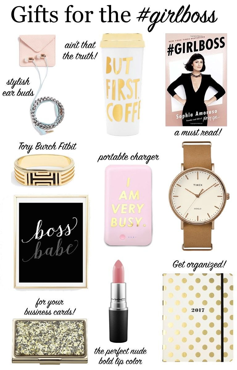 49aacaeb8a8 Gift Guide  For the Girlboss