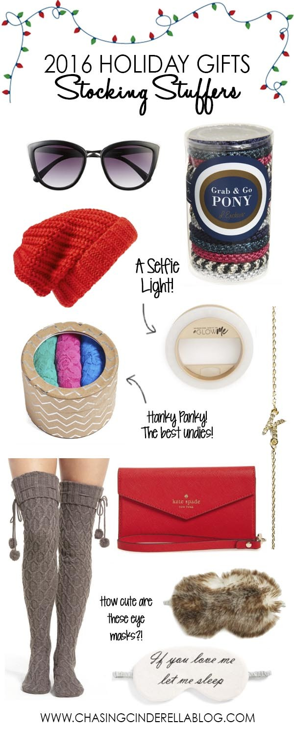 9eb4aecbc Holiday Gift Guide No. 4 | Stocking Stuffers - Chasing Cinderella