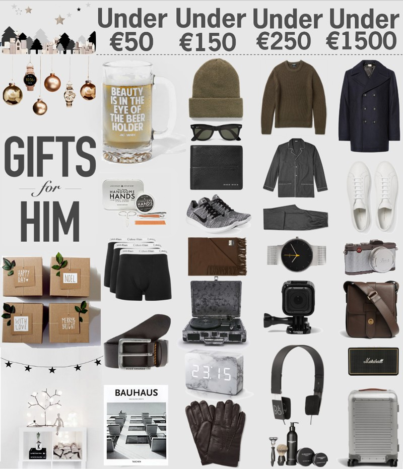 Christmas Gift Guide | What Men Want For Christmas: Best Christmas ...