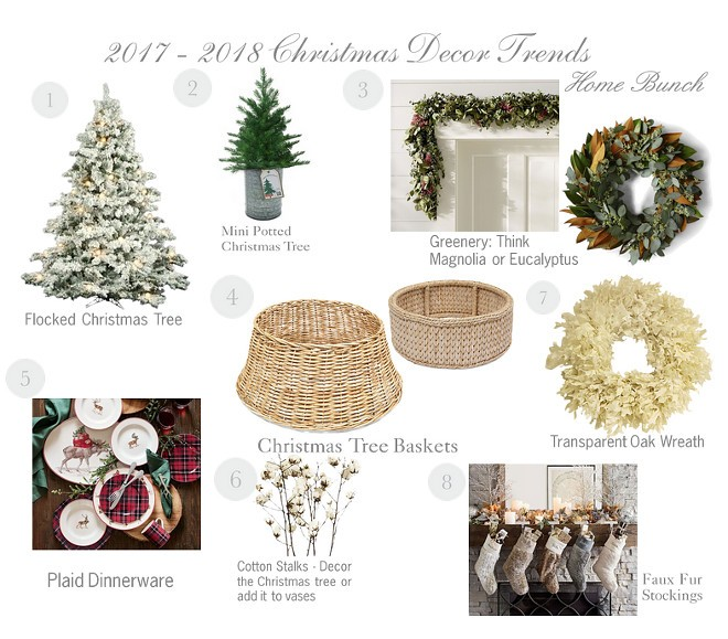 2017 christmas decor trends